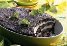 No baking needed Czech Recipes, Raw Food Recipes, Sweet Recipes, Baking Recipes, Dessert Recipes, Healthy Cake, Healthy Snacks, Beignets, Food Inspiration