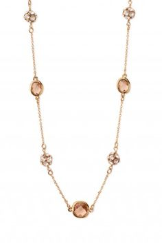 Stella and Dot necklace.  I love how versatile this necklace is--long, doubled, layered, etc.