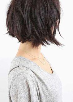 13.Hairstyle de cabelo curto em camadas