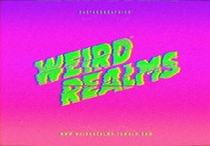 vaporwave design // Weird Realms by Bastard Graphics Vaporwave, New Retro Wave, Retro Aesthetic, Alien Aesthetic, Design Graphique, Pics Art, Looks Cool, Picture Wall, Wall Collage