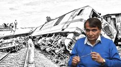 The Standing Committee on Railways pointed out that 70 percent of train accidents in 2015-16 occurred are due to human error - fault of railway staff, poor maintenance.