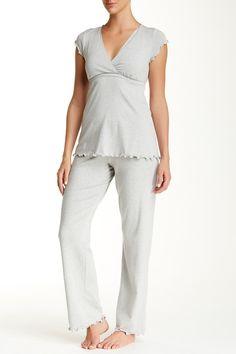 ef5bc8c19db Genna Maternity Nursing Pajama Set (Maternity) by Majamas on. Your-Clothes. com