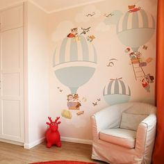 Little Hands Wallpaper Mural - The wallpaper can be ordered in various sizes. We are like tailors, the wallpaper will fit perfectly on your wall, you just have to give us the measures you need! Baby Bedroom, Baby Boy Rooms, Baby Room Decor, Nursery Room, Kids Bedroom, Nursery Decor, Little Hands Wallpaper, Bedroom Crafts, Nursery Wallpaper