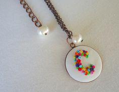 C Monograms, Pendant Necklace, Drop Earrings, Jewelry, Jewlery, Bijoux, Schmuck, Drop Earring, Jewerly
