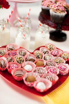 Easy Homemade Valentines Truffles