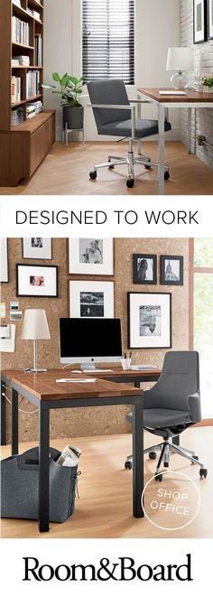 Room U0026 Board   Modern Office Furniture