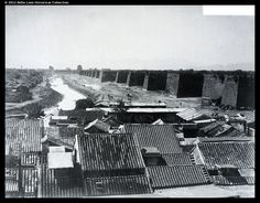 The walls of Beijing stood until 1959, then demolished under the order of vice chairman Liu Shaoqi