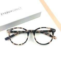 "96d4dfb34d8 EyeBuyDirect on Instagram  ""Our Primrose frame in ivory tortoise. Share  your thoughts!  eyebuydirect  glasses  eyewear  design  look  trend"""