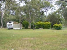 Mt Garnet Travellers Park. Plenty of caravan sites both powered & unpowered. Wonderful location.