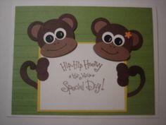 A Monkey Birthday Hello