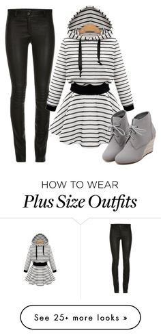 Dressy Hoodie by ella178 on Polyvore featuring WithChic, womens clothing, women, female, woman, misses and juniors
