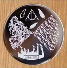 Hehe Stamping Plate - hehe036 | Harry Potter