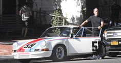 Jerry Seinfeld freaks out after his vintage Porsche is almost struck