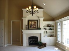 Built In for the living room by Buckland Construction, Inc. - traditional - family room - indianapolis - Buckland Construction, Inc.