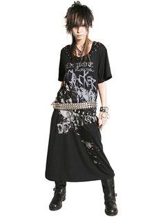 Sex Pot Revenge cut sew t-shirt dress... for the punky side of me.