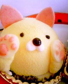 ユーハイム - 料理写真:猫のケーキにゃ