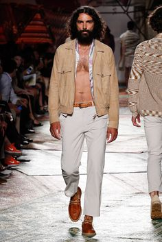 Missoni Spring 2015 Menswear - Collection - Gallery - Look 1 - Style.com
