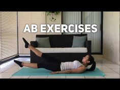 I posted a workout video on to my YouTube channel of ab exercises that you can do from home. I wanted to compliment it with this blog entry. I have the