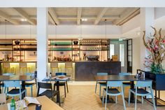 ROC Mondriaan in Den Haag, hospitality, 4 restaurants in een school…