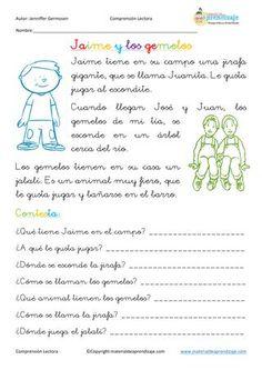ISSUU - Fichas de comprensión lectora de Educación Primaria