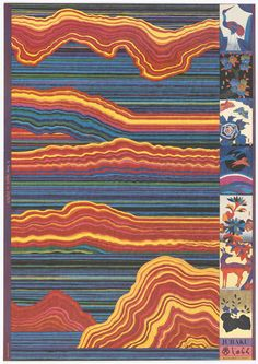 Kiyoshi Awazu, poster artwork for A new spirit in Japan, Juraku, 1970s. Via Cooper Hewitt