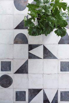 Monochrome Decorative Porcelain tiles