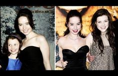 Georgie and Anna at the premier for LWW in 2005, and then at the premier for VDT in 2010.