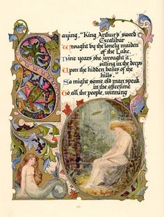 The legend of king arthur and the knights of the round table alberto sangorski from morte darthur a poem by alfred lord tennyson london 1912 fandeluxe Images