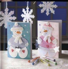 ღ~❤~ღTAGLIO E CUCIOღ~❤~ღ: Biglietti Auguri di Natale!!!