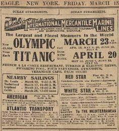 The Source Of Inspiration Rms Titanic, Titanic Ship, Titanic History, Titanic Museum, Southampton, Vintage Nurse, Vintage Ads, Vintage Images, Book Layout