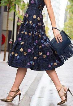 #summer #lovely #style | Lovely Print Little Dress