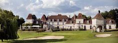 4* Country Club and Spa Chateau with golf, spa, hotel services, lake