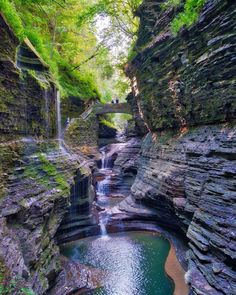 You Can Hike Through A Stunning Gorge Past 19 Waterfalls At This Hidden Trail Near Ontario - Narcity Weekend Trips, Day Trips, Beaches In Ontario, Cool Places To Visit, Places To Travel, Ontario Parks, Ontario Travel, Canadian Travel, Hiking Spots