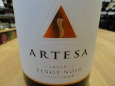 Artesa Carneros Pinot Noir: http://woodbury-middlebury.patch.com/articles/wine-of-the-wednesday-artesa-carneros-pinot-noir-middlebury-fine-wine-spirits-food-wine-pairings-bob-heusted