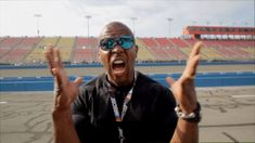 New party member! Tags: scream nascar yell pumped ahh terry crews so excited auto club 400 2017 auto club 400