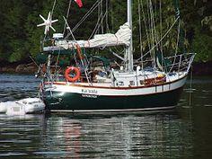 A Coast 34 named Ka'Sala, sailing a path from British Columbia to Mexico and back again, by way of Hawaii. Sweet plan.