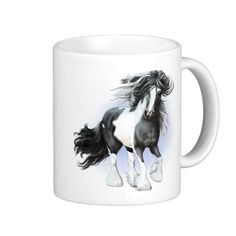 Gypsy Vanner Draft Horse Coffee Mug