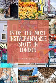 Check out 15 of the most Instagrammable spots in London #London, #InstagramLondon #Prettylittlelondon #instagrammablespots