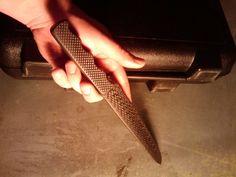 DIY fully carbon fiber knife building. :) Lots of pics!