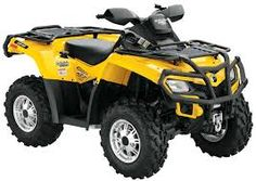 Can-Am outlander quad bike.  Available in a range of colours.  450cc, 570cc, 650cc or 1000cc
