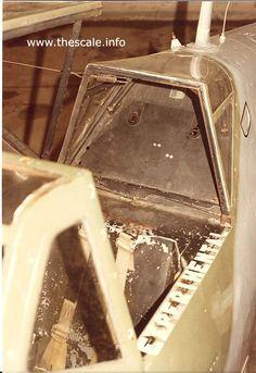 Hispano HA-1112-M1L Buchon, cockpit canopy photos
