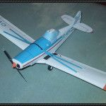 Pawnee CNVV OO-VOV Free Aircraft Paper Model Download