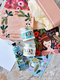 Feast your eyes on the whimsical L& x Rifle Paper Co collection while shea butter pampers your skin is part of Branding design packaging, Packaging template, Rifle paper co, Packaging inspira - Beer Packaging, Food Packaging Design, Poster Design, Print Design, Label Design, Package Design, Design Design, Pretty Packaging, Rifle Paper Co