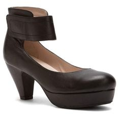 Sacha London Vera -- This fashionable heel is also incredibly comfortable with its modest heel, platform, and padded foot bed.