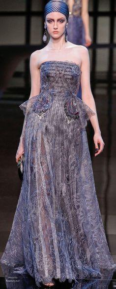 Giorgio Armani Privé Haute Couture Spring Summer 2014 collection.