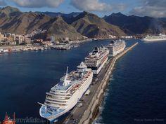 Puerto de Santa Cruz de Tenerife compite con los mejores puertos de cruceros