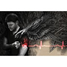 Castiel Leaves His Mark Poster