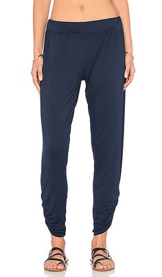 Shop for Michael Lauren Pablo Shirring Pant in Navy Storm at REVOLVE. Free 2-3 day shipping and returns, 30 day price match guarantee.