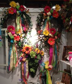 Why not think out of the box for your next gift & select one of our handmade wreaths?  Welcome Home Wreaths & Gifts found inside the Cotton Company