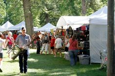 The 36 Annual Festival in The Park will feature more than 180 art and food vendors, making it one of the largest outdoor summer arts festivals in the upper Midwest. The emphasis is on handmade arts and crafts, so all applications are subject to a juried process. Stage entertainment includes live music, children's activities, and art demonstrations. Love this art show!